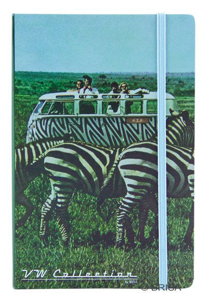 Zebra Bus Tote Bag and Notebook Gift Set - Cool VW Stuff  - 4