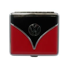 Cigarette Case-Red & Black Bus - Cool VW Stuff  - 1
