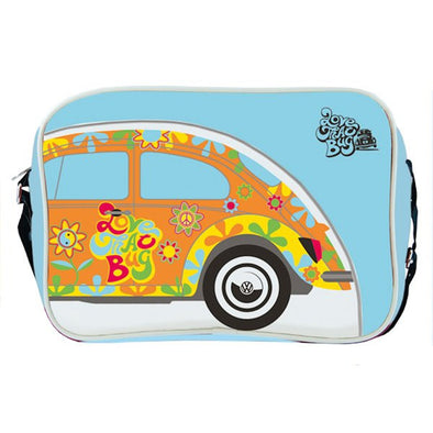 VW Collection Retro Love That Bug Floral Beetle Shoulder Bag BESL01