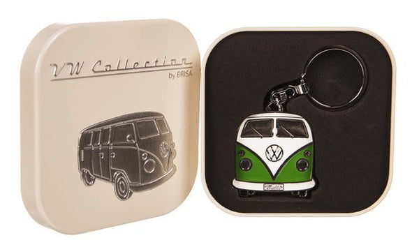 VW Green Shopper Tote Bag & Green Bus Key Ring - Cool VW Stuff  - 3