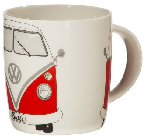 Coffee Mug-Red Bus - Cool VW Stuff  - 2