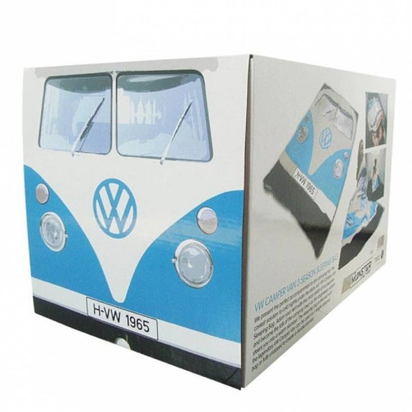 3 Season Blue Bus Sleeping Bag/Blanket - Cool VW Stuff  - 2