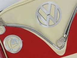 Camper Deluxe Shoulder Bag-Red - Cool VW Stuff  - 4