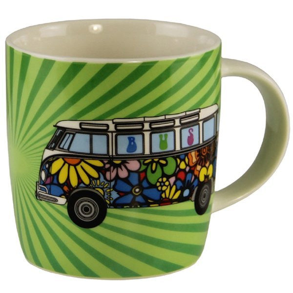 Cool Vw Stuff Vw Flower Power Tote Bag Amp Coffee Mug