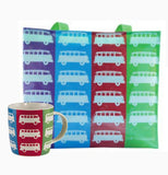VW Multi-Bus Tote Bag & Coffee Mug - Cool VW Stuff  - 1