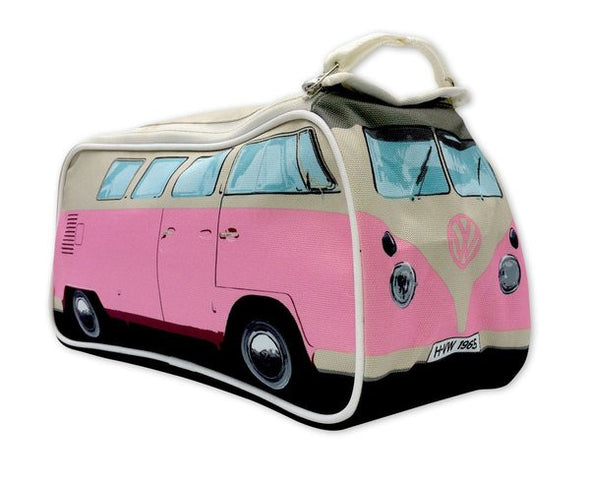 VW Bus Toiletry Bag-Pink - Cool VW Stuff  - 1