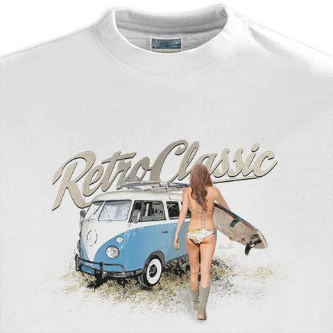 Men's RetroClassic Camper & Surf Chick - Cool VW Stuff