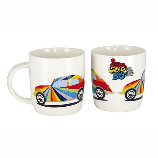VW Beetle Coffee Mug-Rainbow Beetle - Cool VW Stuff  - 1