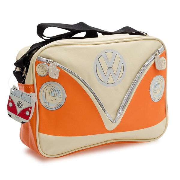 Camper Deluxe Shoulder Bag-Orange - Cool VW Stuff  - 1