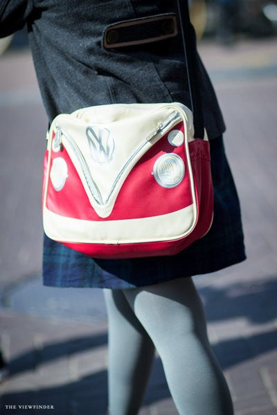 Camper Deluxe Shoulder Bag-Red - Cool VW Stuff  - 7