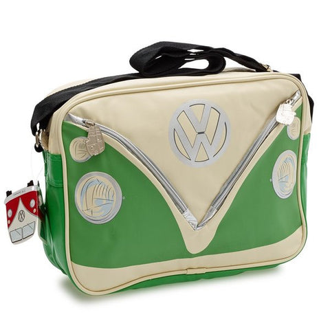 Camper Deluxe Shoulder Bag-Green - Cool VW Stuff  - 1