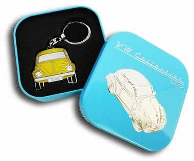 Key Ring-Yellow Beetle - Cool VW Stuff  - 1