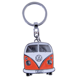 VW Orange Shopper Tote Bag & Orange Bus Key Ring - Cool VW Stuff  - 4