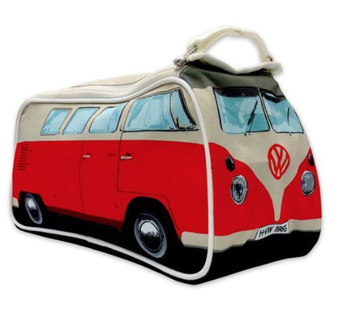 VW Bus Toiletry Bag-Red - Cool VW Stuff  - 1