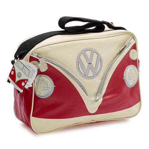 Camper Deluxe Shoulder Bag-Red - Cool VW Stuff  - 1