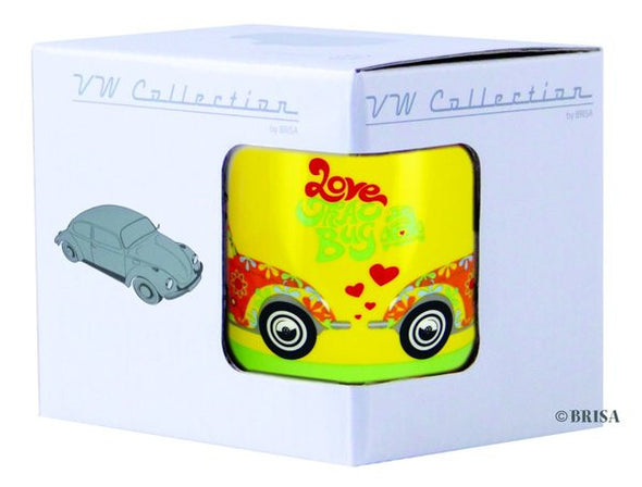 VW Beetle Coffee Mug-Love That Bug Yellow - Cool VW Stuff  - 3