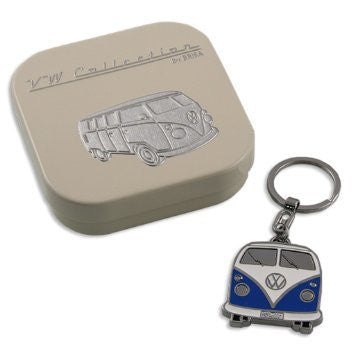Key Ring-Blue Bus - Cool VW Stuff  - 1
