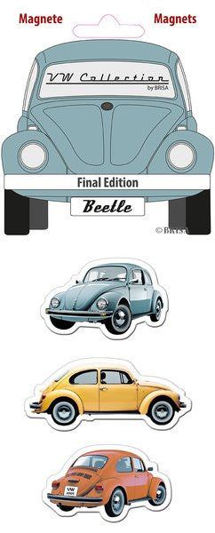 The Original VW Beetle Magnets-Final Edition - Cool VW Stuff  - 1