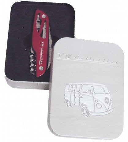 Multi-Function VW Bus Pocket Knife - Cool VW Stuff  - 3
