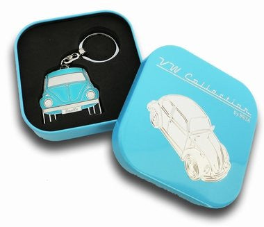 Key Ring-Blue Beetle - Cool VW Stuff  - 1