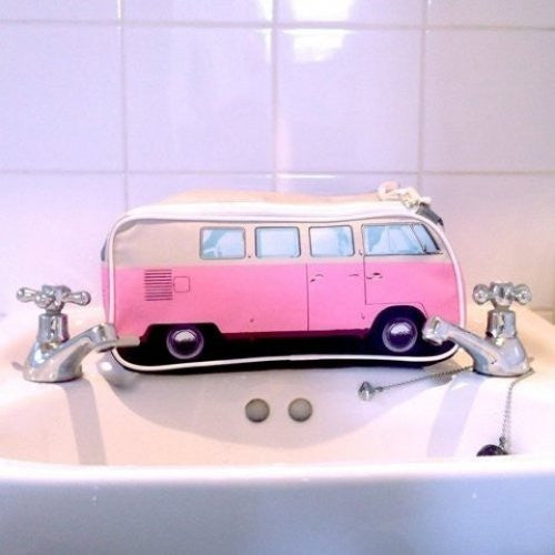 VW Bus Toiletry Bag-Pink - Cool VW Stuff  - 5