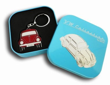 Key Ring-Red Beetle - Cool VW Stuff  - 1