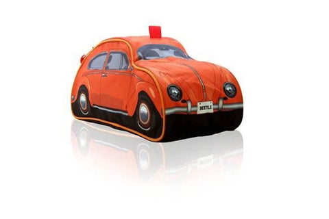 VW Beetle Toiletry Bag-Orange - Cool VW Stuff  - 1