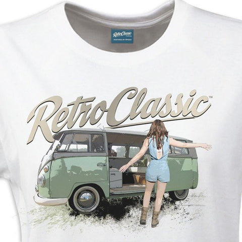 Men's RetroClassic Lizzibeth Taylor & Camper - Cool VW Stuff  - 1