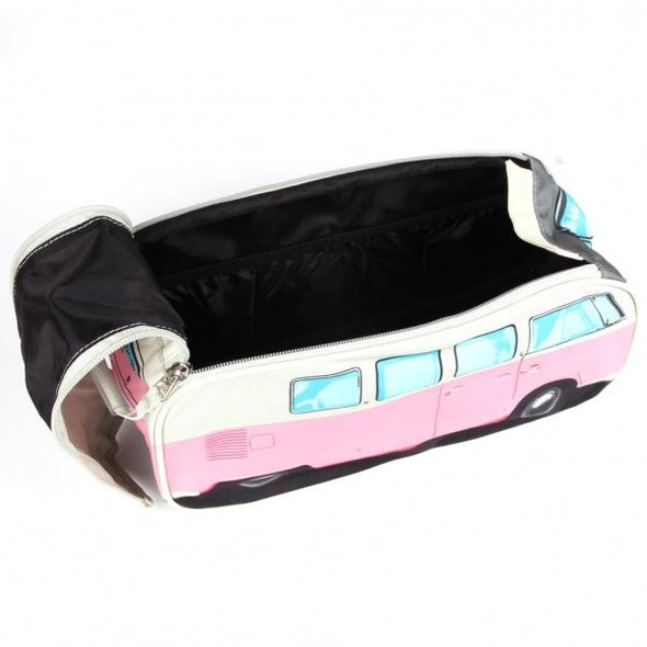 VW Bus Toiletry Bag-Pink - Cool VW Stuff  - 3