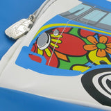 Camper Deluxe Shoulder Bag-Peace & Love - Cool VW Stuff  - 3