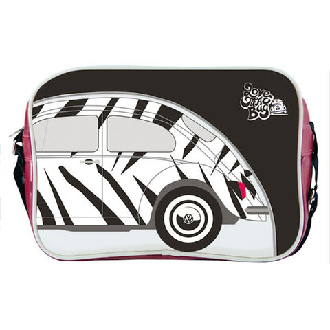 VW Retro Love That Bug Zebra Beetle Shoulder Bag - Cool VW Stuff  - 1