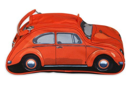 VW Beetle Toiletry Bag-Orange - Cool VW Stuff  - 4