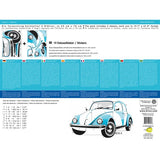 Wall Decal-Blue Beetle - Cool VW Stuff  - 2