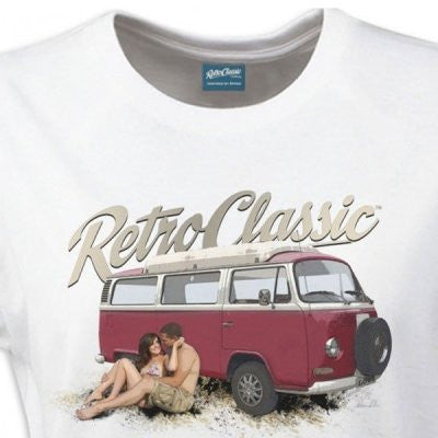 Women's RetroClassic VDUB Love Camper - Cool VW Stuff  - 1