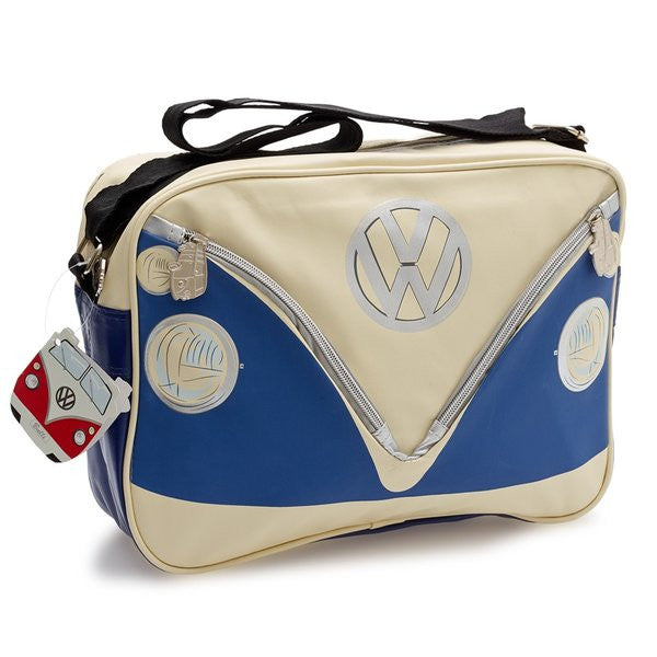 Camper Deluxe Shoulder Bag-Blue - Cool VW Stuff  - 1