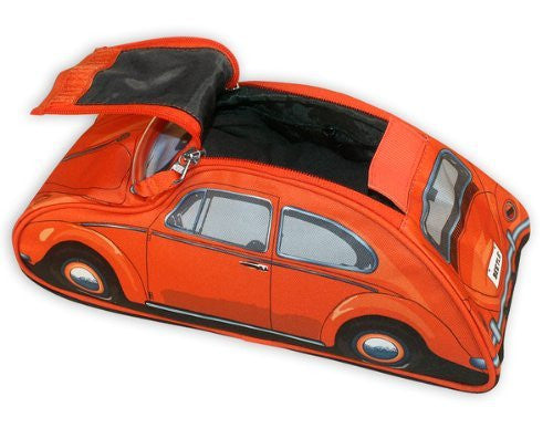 VW Beetle Toiletry Bag-Orange - Cool VW Stuff  - 3