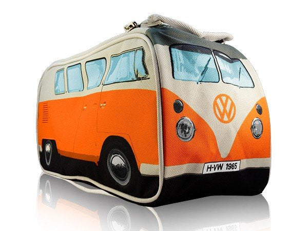 VW Bus Toiletry Bag-Orange - Cool VW Stuff  - 1