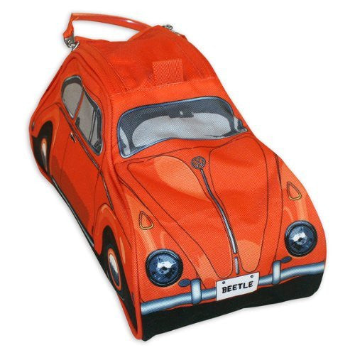 VW Beetle Toiletry Bag-Orange - Cool VW Stuff  - 5