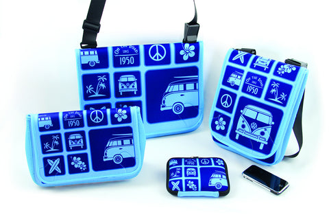 Neoprene 4-Piece Bag Set Blue