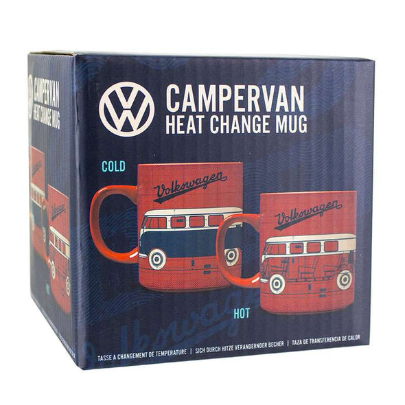 VW Campervan Heat Changing Coffee Mug