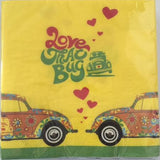 VW Beetle Napkin Set Pack of 20-Love That Bug - Cool VW Stuff  - 1