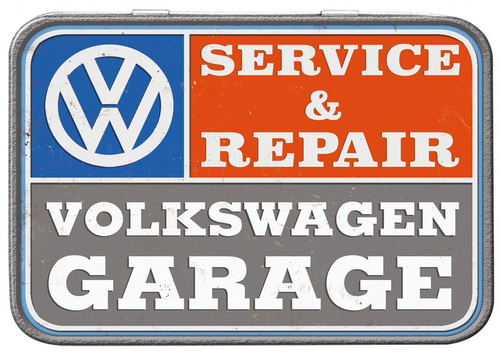 VW Garage Keepsake Tin - Cool VW Stuff  - 2