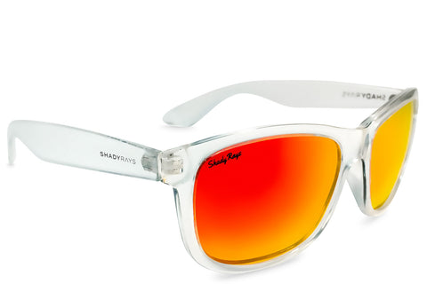 Shady Rays Signature Series - Infrared Ice Polarized Sunglasses