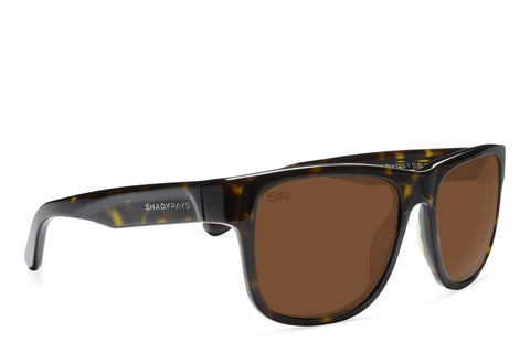 Shady Ray's Ventura Limited - Amber Tortoise Polarized Sunglasses