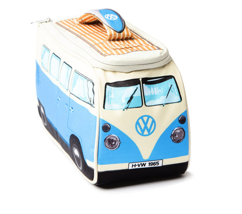 Volkswagen Camper Van Lunch Bag - Blue - Cool VW Stuff  - 1