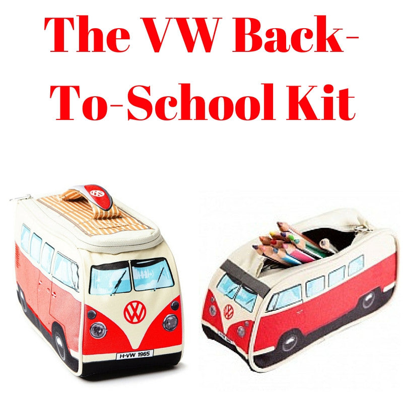 Red Back-To-School Gift Set - Lunch Bag & Pencil Case