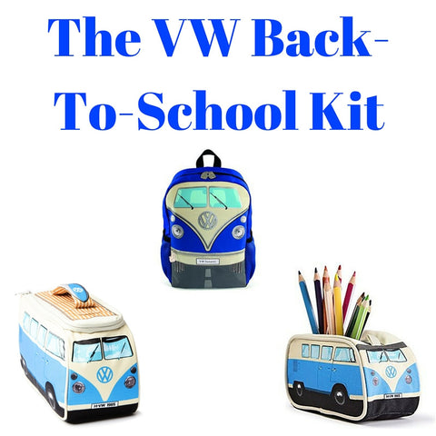 Blue Back-To-School Gift Set - Backpack, Lunch Bag & Pencil Case