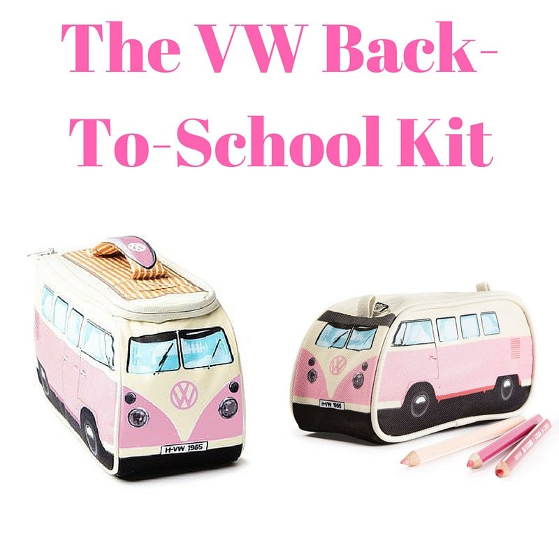 Pink Back-To-School Gift Set - Lunch Bag & Pencil Case