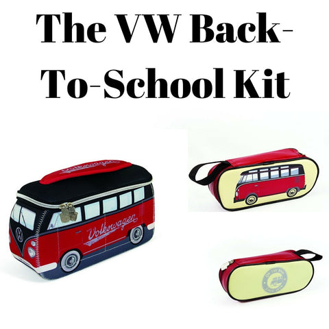 Red & Black Back-To-School Gift Set - Lunch Bag & Pencil Case