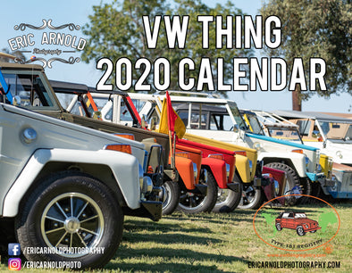 Volkswagen 2020 Calendar - VW Things by Eric Arnold